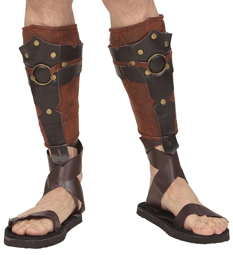 9ec7430dc7f Αποκριάτικες Leather Look Γκέτες Ρωμαίου/Έλληνα Πολεμιστή | Διάφορα ...