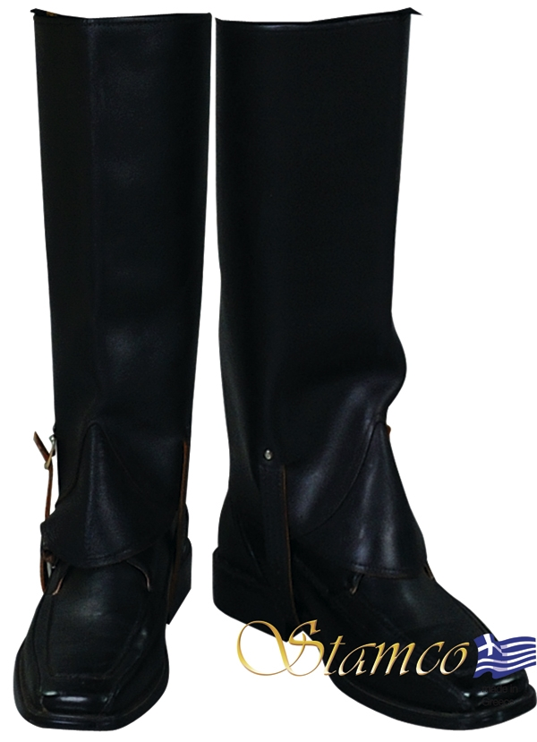 a713870096 Επικαλυπτικές Μπότες Δερμάτινες