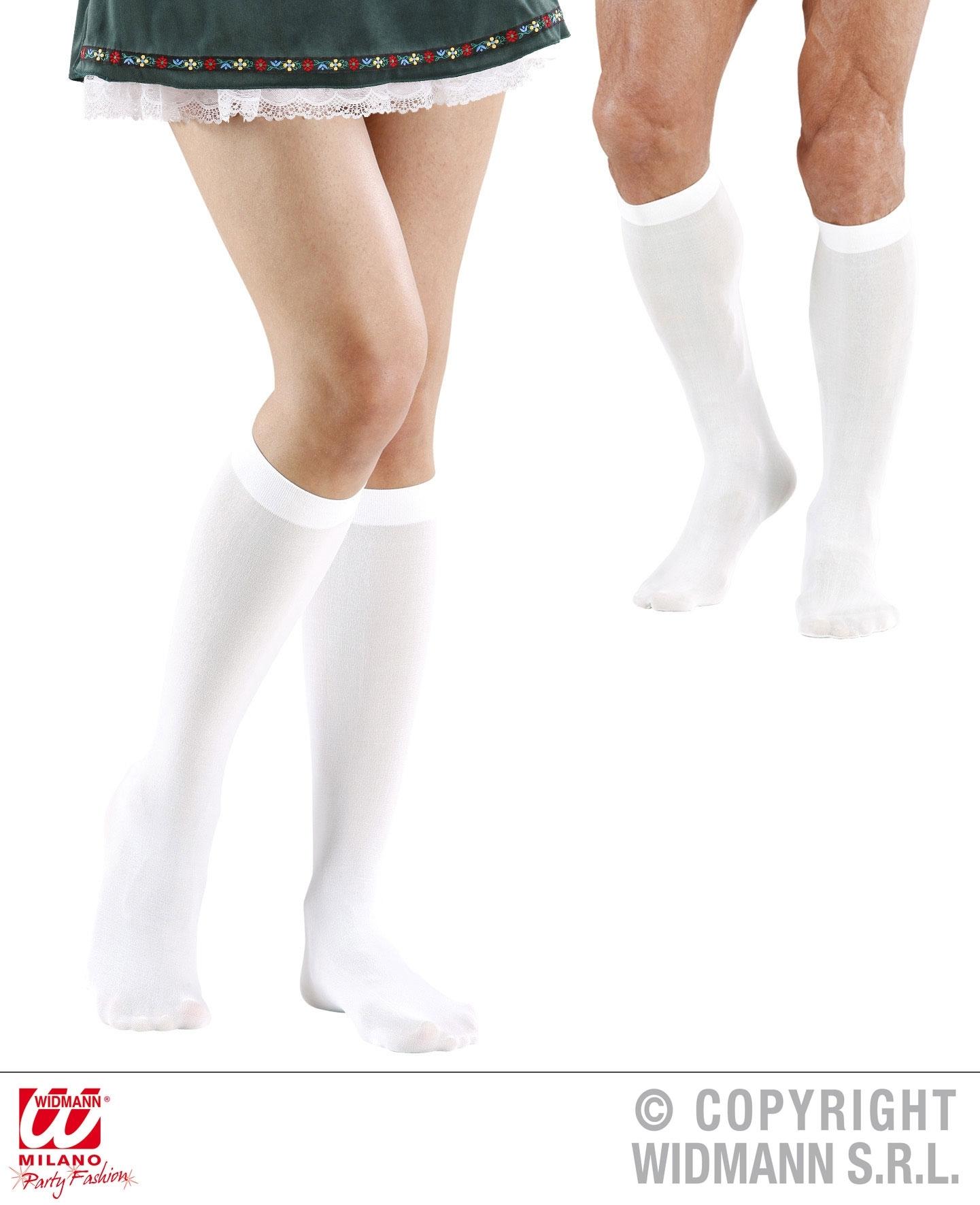 Αποκριάτικες Κάλτσες Λευκές  ee1e07306b9