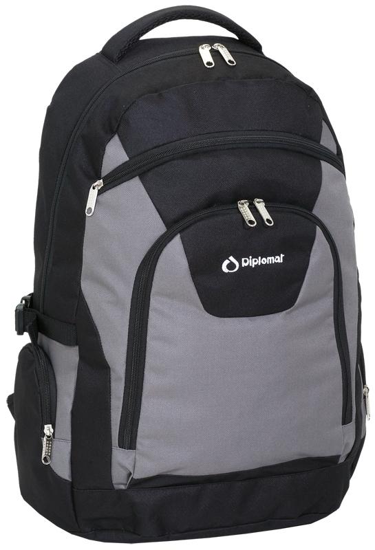 b82e4d06b5 Τσάντα πλάτης μεγάλη BF12 μαύρο γκρι